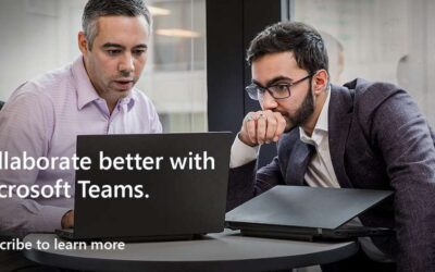 Collaborate betterwith Microsoft Teams. Subscribe to learn more.