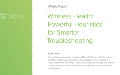Wireless Health: Powerful Heuristics for Smarter Troubleshooting
