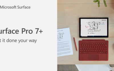 Meet Microsoft Surface Pro 7+. It's all about adaptability.